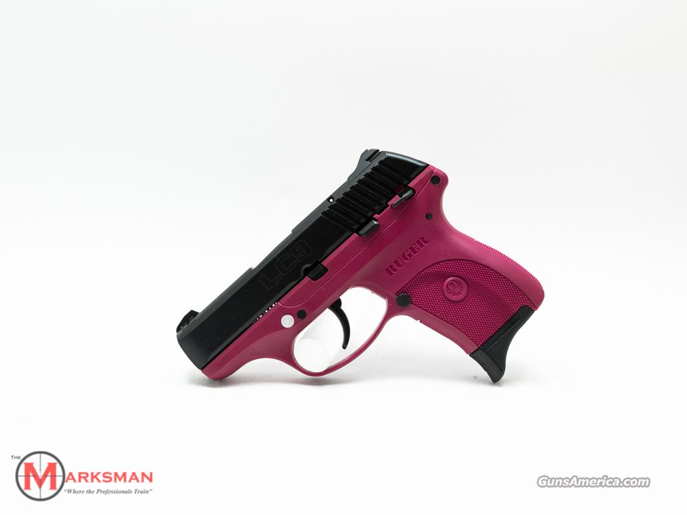 Ruger LC9 Raspberry 9mm NEW 9  Guns > Pistols > Ruger Semi-Auto Pistols > LC9