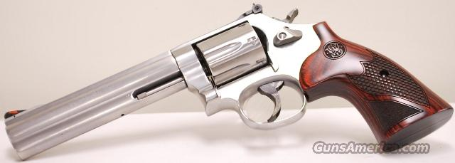 Smith and Wesson 686 .357 Magnum Wood Grips  Guns > Pistols > Smith & Wesson Revolvers > Full Frame Revolver