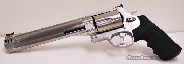 "Smith and Wesson 500 S&W Magnum 8 3/8"" Brrl  Guns > Pistols > Smith & Wesson Revolvers > Full Frame Revolver"