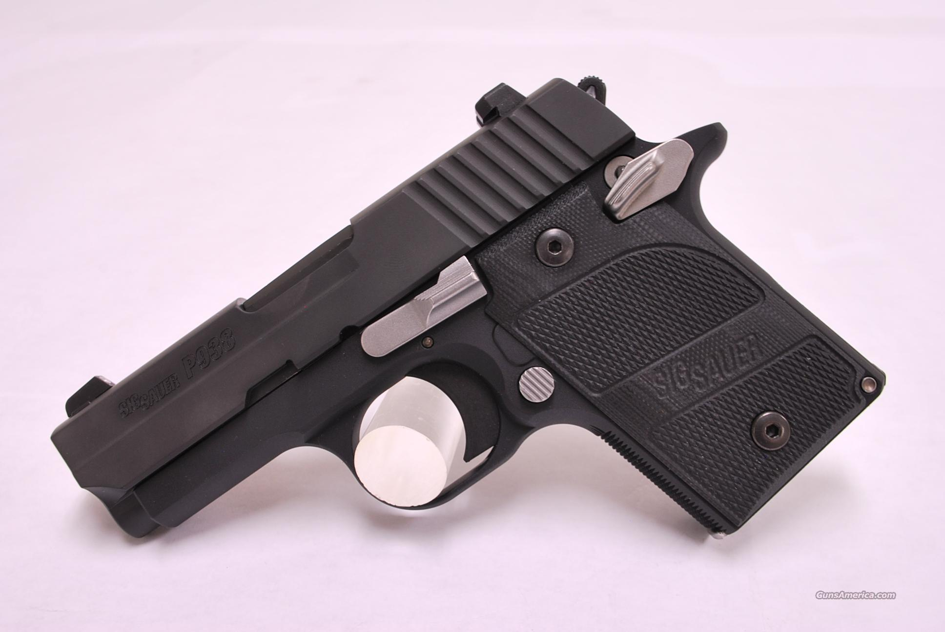 Sig Sauer P938 9mm 1911 NEW  Guns > Pistols > Sig - Sauer/Sigarms Pistols > Other