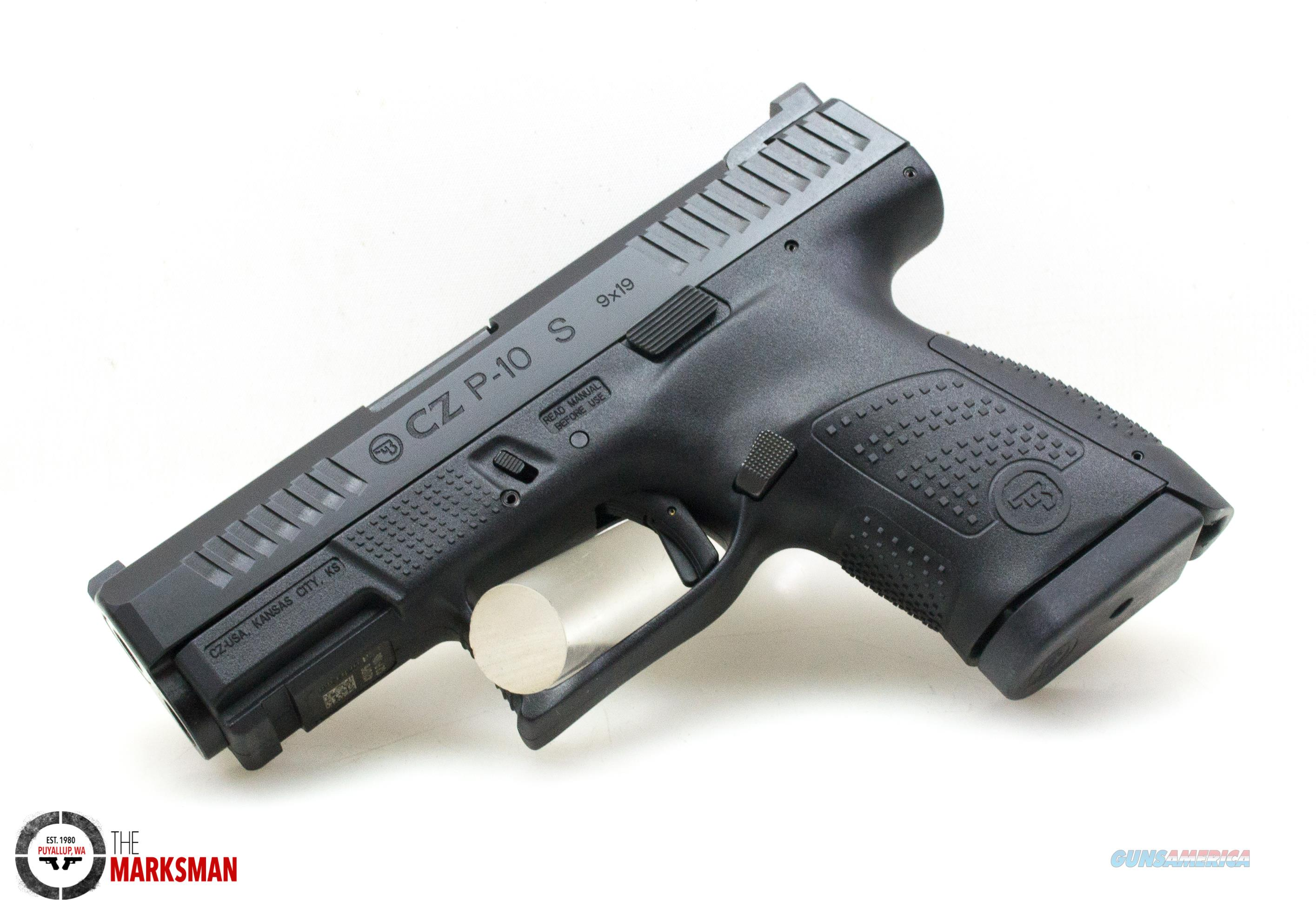 CZ P-10 Sub-Compact, 9mm, FFNS NEW  Guns > Pistols > CZ Pistols