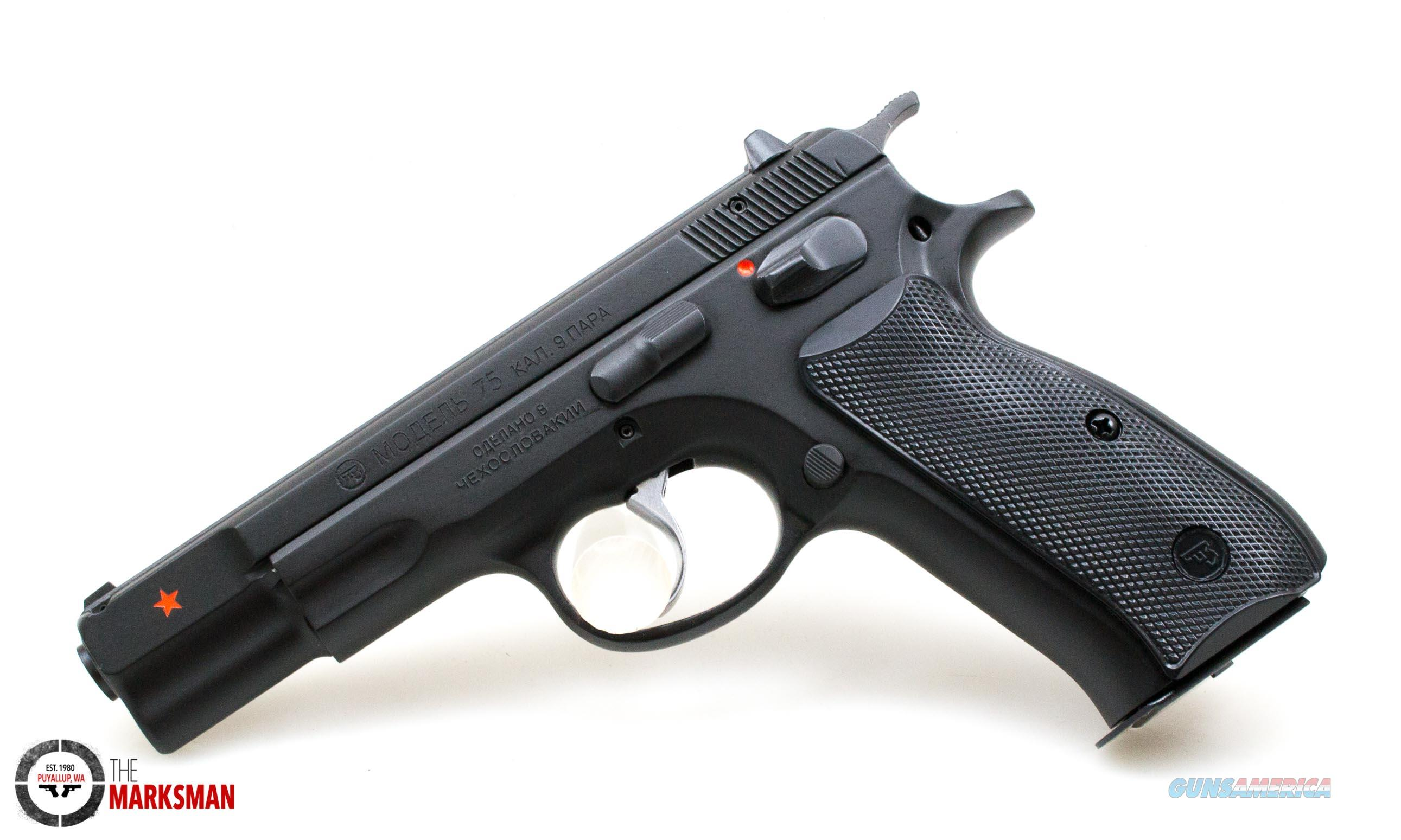 CZ 75B, 9mm, Cold War Commemorative NEW 91116  Guns > Pistols > CZ Pistols