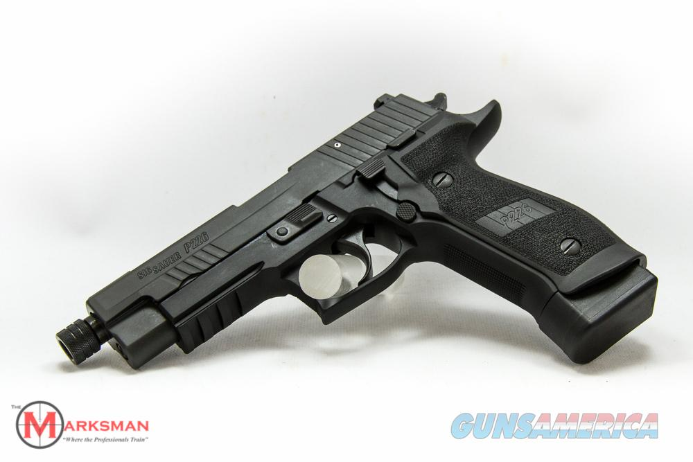 Sig Sauer P226 9mm Tactical Operations (TacOps) NEW Threaded Barrel, Free Shipping  Guns > Pistols > Sig - Sauer/Sigarms Pistols > P226
