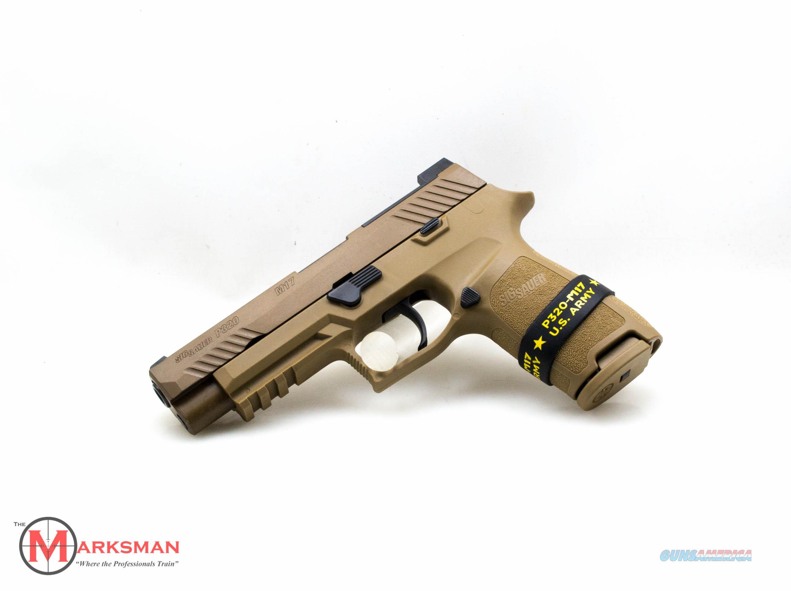 Sig Sauer P320 M17, 9mm NEW 320F-9-M17  Guns > Pistols > Sig - Sauer/Sigarms Pistols > P320