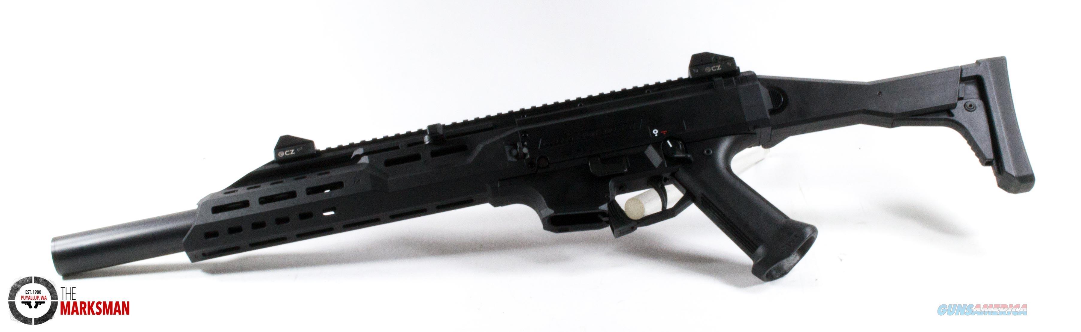 CZ Scorpion Evo 3 S1 Carbine w/Faux Suppressor, 9mm NEW  Guns > Rifles > CZ Rifles