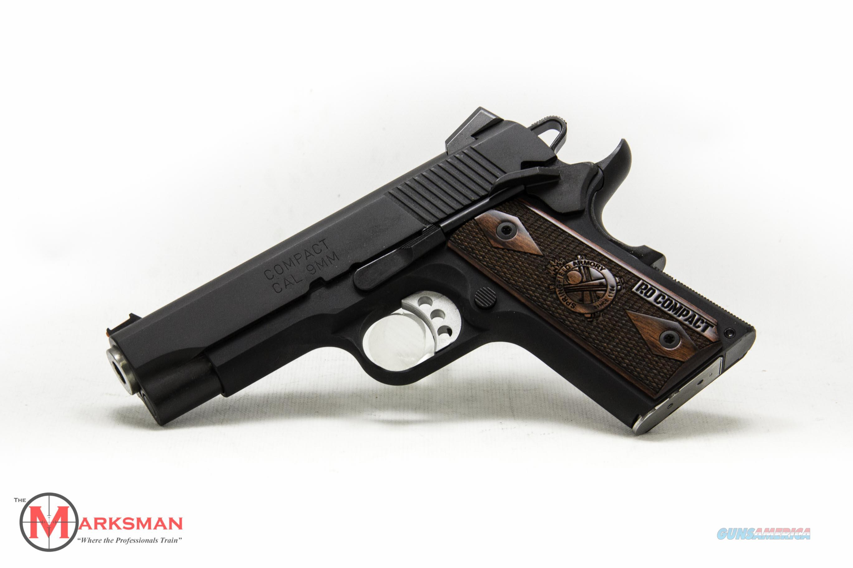 Springfield Range Officer Lightweight Compact, 9mm NEW  Guns > Pistols > Springfield Armory Pistols > 1911 Type