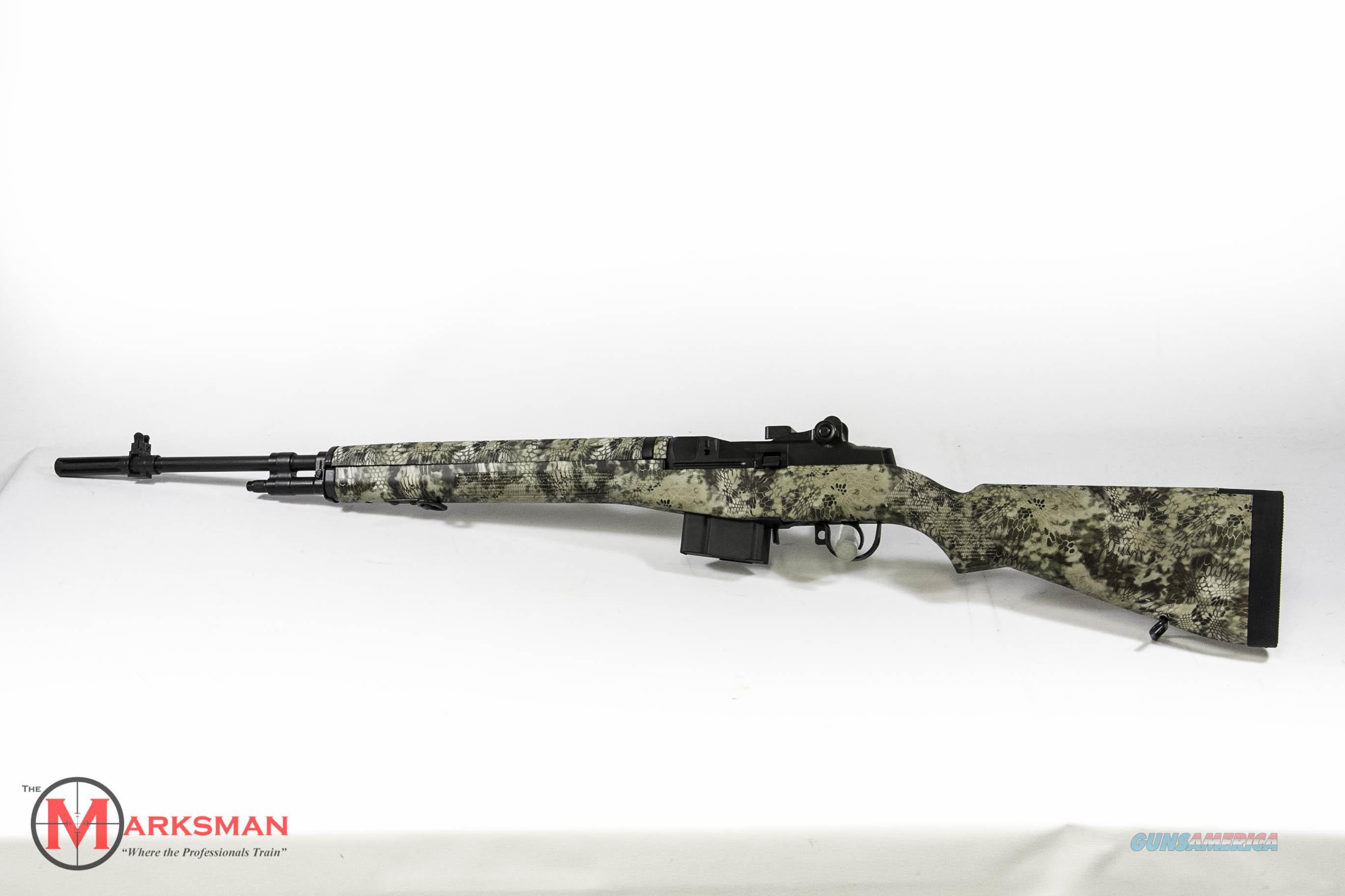 Springfield M1a with Highlander Camo Stock, .308 Winchester NEW  Guns > Rifles > Springfield Armory Rifles > M1A/M14
