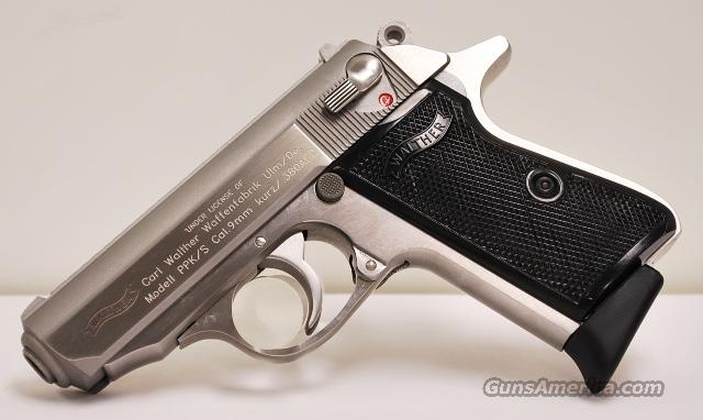Walther PPK/S .380 ACP  Guns > Pistols > Walther Pistols > Post WWII > PP Series
