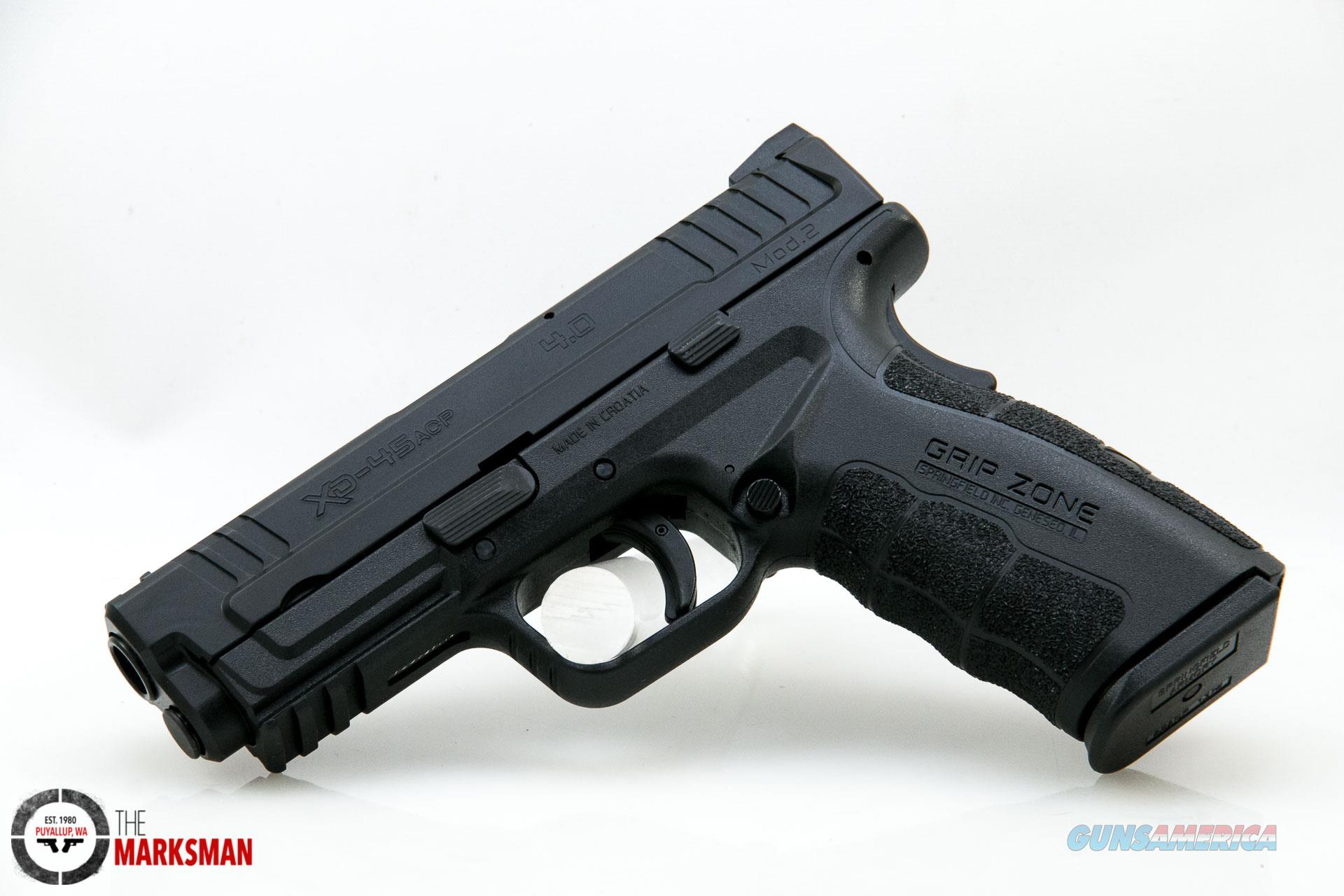 Springfield XD Mod 2, .45 ACP NEW Essentials Package  Guns > Pistols > Springfield Armory Pistols > XD-Mod.2