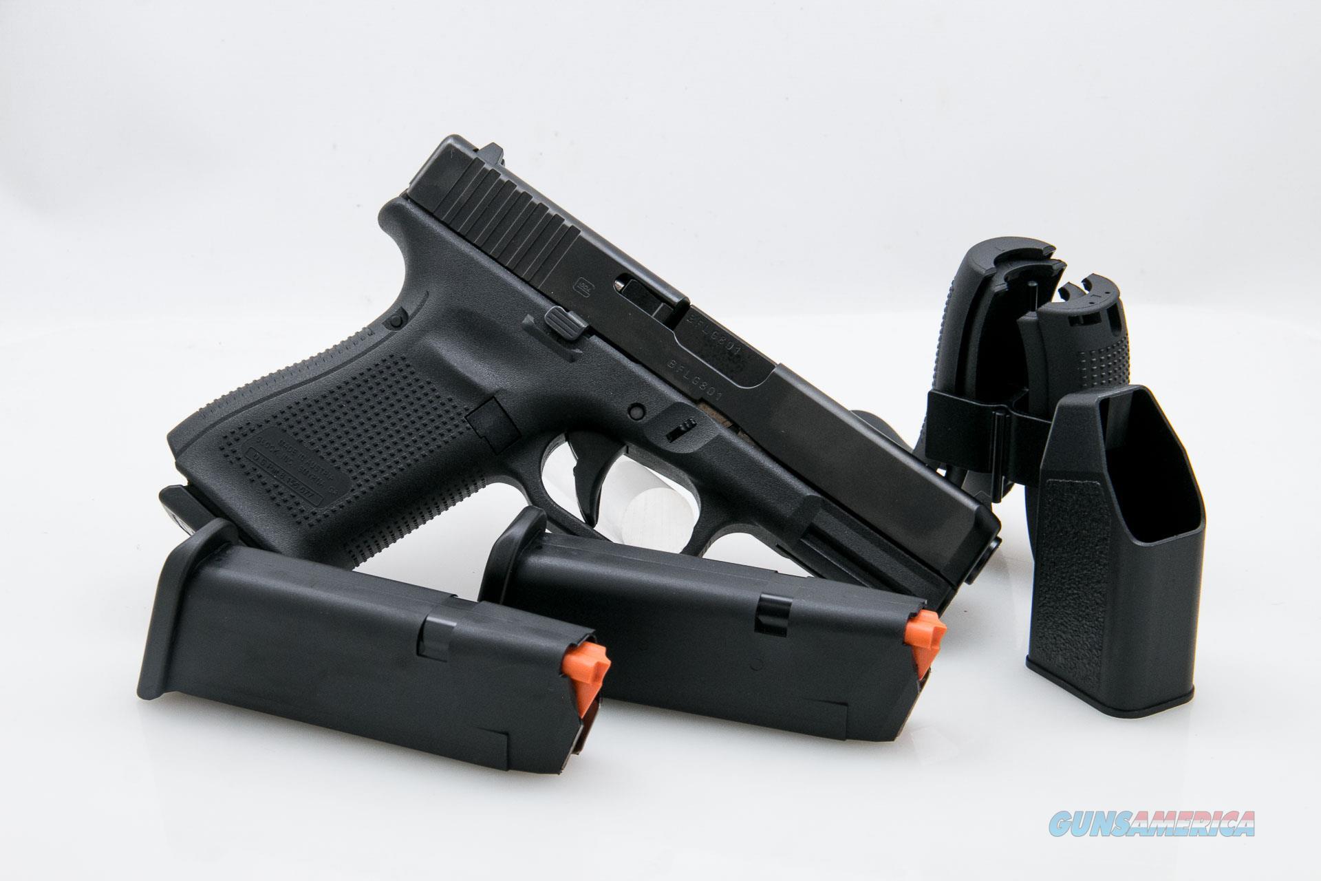 Glock 19 Generation 5 9mm NEW Three Magazines  Guns > Pistols > Glock Pistols > 19/19X