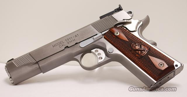 Springfield Loaded Stainless Target 9mm 1911  Guns > Pistols > Springfield Armory Pistols > 1911 Type