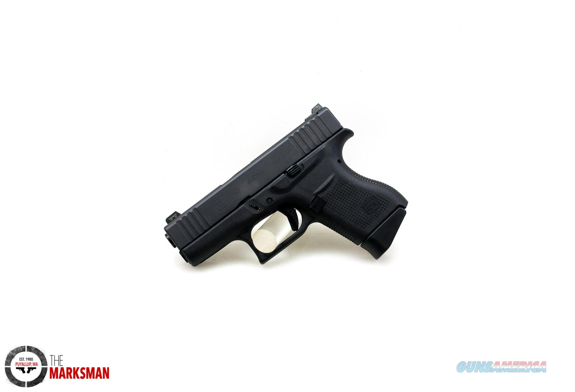 Glock 43 Vicker's Tactical, 9mm, Lipsey's Exclusive NEW  Guns > Pistols > Glock Pistols > 43/43X