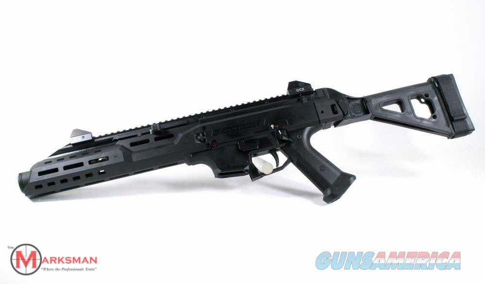 CZ Scorpion Evo 3 S1 Pistol, 9mm NEW With Flash Can and Folding Brace  Guns > Pistols > CZ Pistols