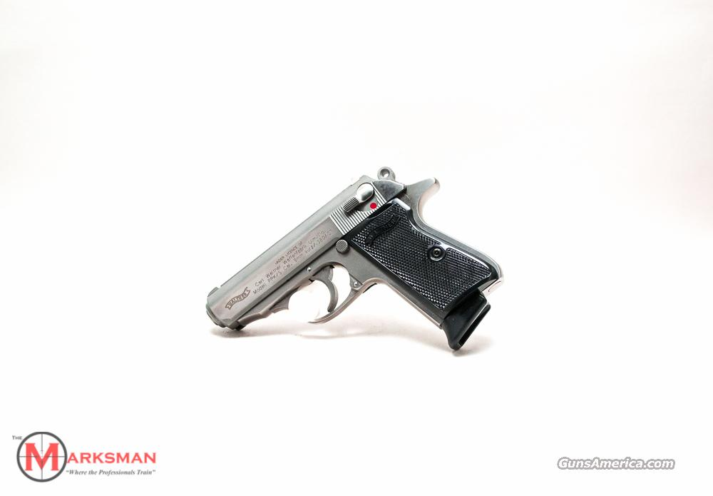 Walther PPK/S .380 ACP Stainless NEW  Guns > Pistols > Walther Pistols > Post WWII > PPK Series