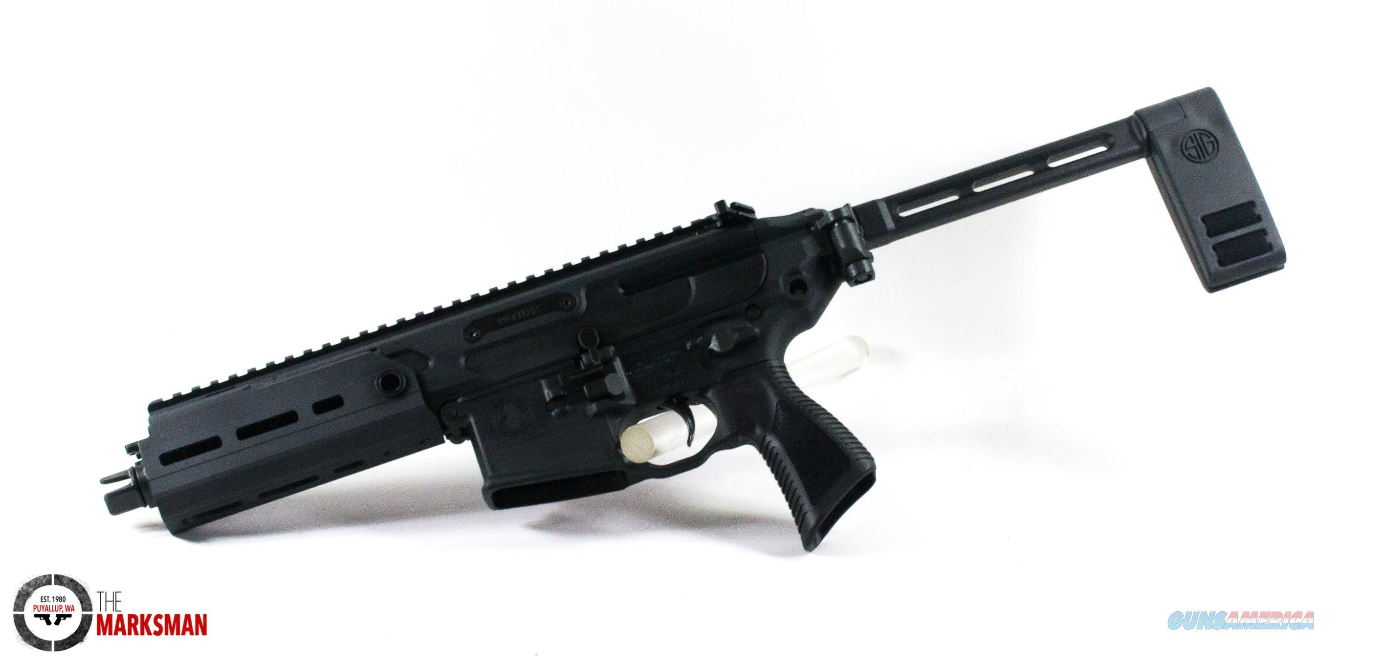 Sig Sauer MCX Rattler Pistol, .223 Rem./5.56 NATO, FREE SHIP  Guns > Pistols > Sig - Sauer/Sigarms Pistols > MPX / MCX