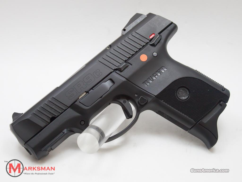 Ruger SR9C Blackened Stainless Slide 9mm  Guns > Pistols > Ruger Semi-Auto Pistols > SR9 & SR40