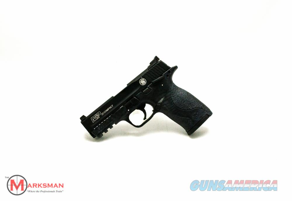 Smith and Wesson M&P 22 Compact .22 lr NEW Kryptek Typhoon Finish  Guns > Pistols > Smith & Wesson Pistols - Autos > Polymer Frame
