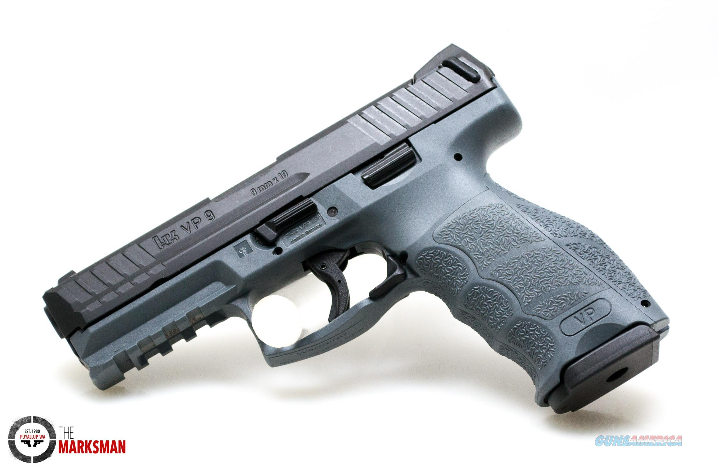Heckler and Koch VP9 Grey, 9mm   Guns > Pistols > Heckler & Koch Pistols > Polymer Frame