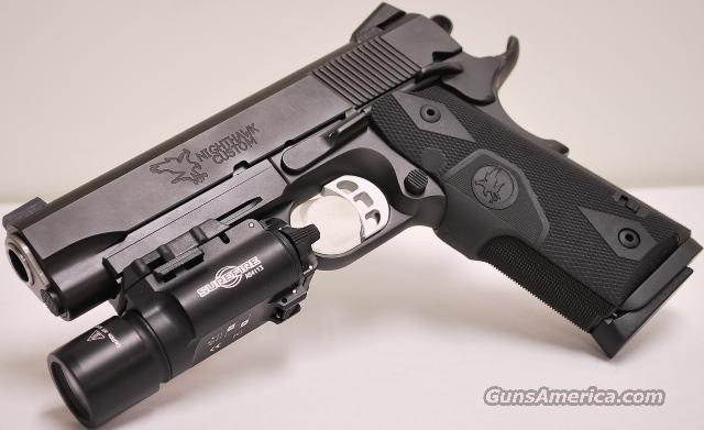 Nighthawk Custom GRP II Commander 1911 45 ACP with  Surefire X300   Guns > Pistols > Nighthawk Pistols