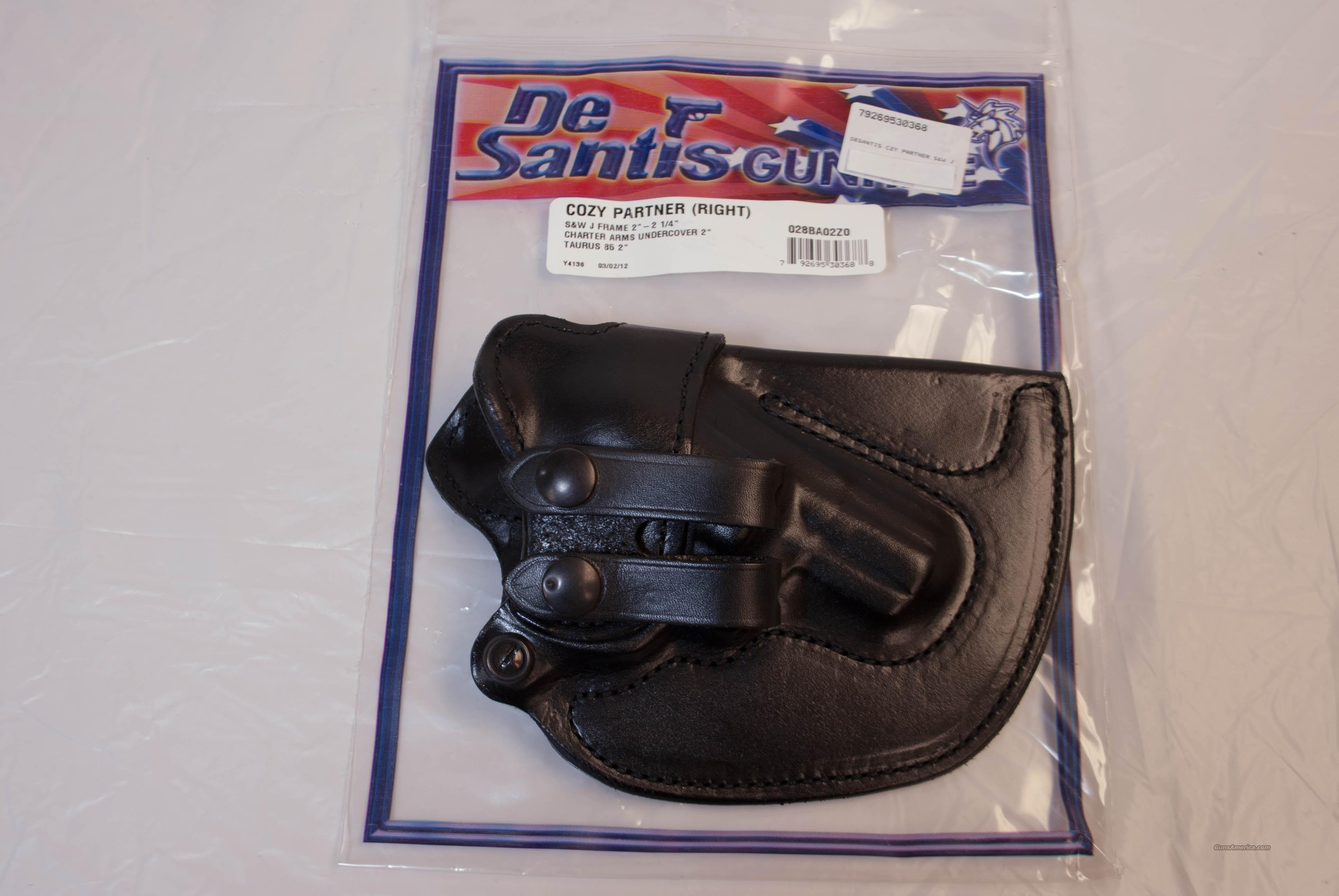 DeSantis Cozy Partner S&W Charter Arms Taurus NEW  Non-Guns > Holsters and Gunleather > Concealed Carry