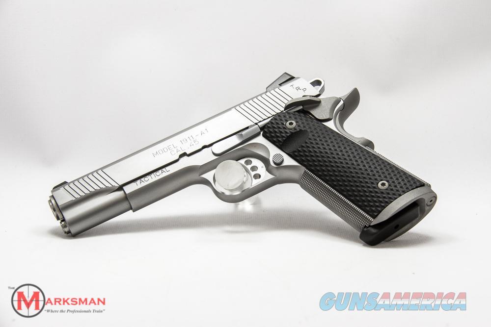 Springfield Stainless TRP 45 ACP NEW PC9107L18  Guns > Pistols > Springfield Armory Pistols > 1911 Type
