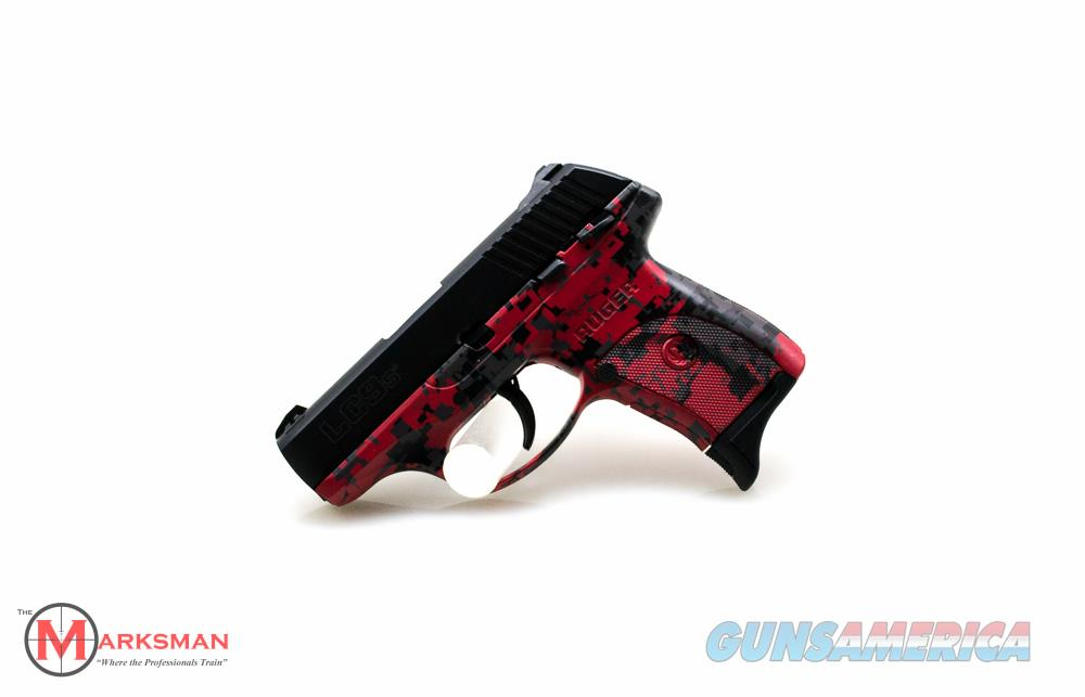 Ruger LC9s, 9mm, Red Digital Camo NEW  Guns > Pistols > Ruger Semi-Auto Pistols > LC9