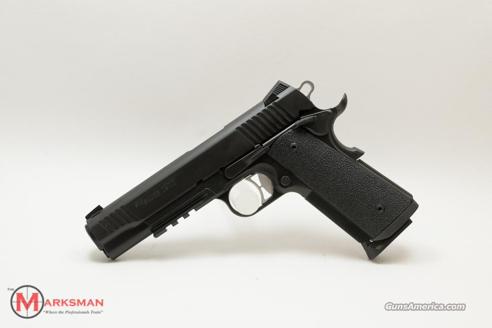 Sig Sauer Traditional TacOps 1911 .45 ACP NEW  Guns > Pistols > Sig - Sauer/Sigarms Pistols > 1911