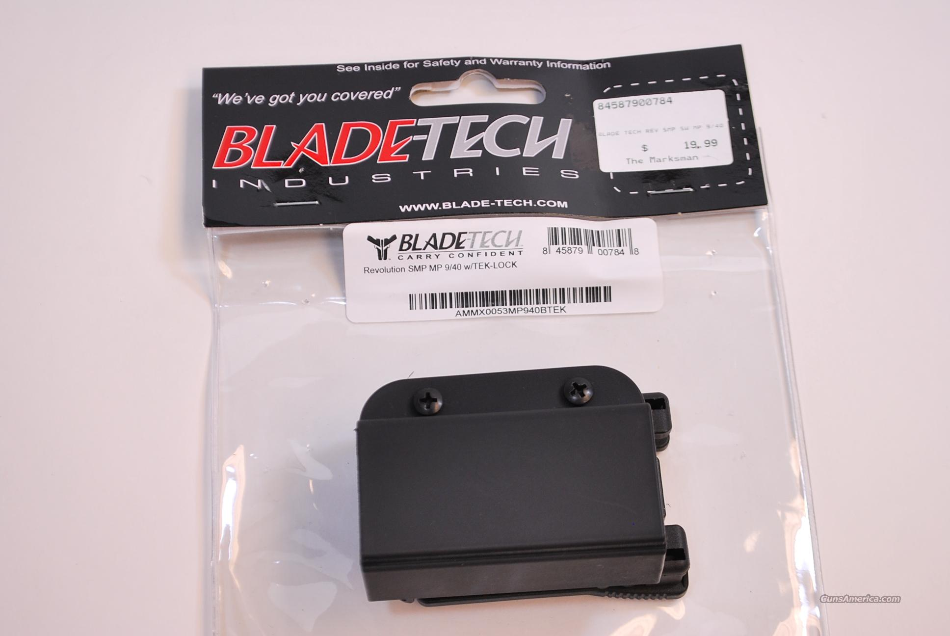 Blade Tech Single Magazine Pouch S&W M&P 9 40 NEW  Non-Guns > Holsters and Gunleather > Concealed Carry