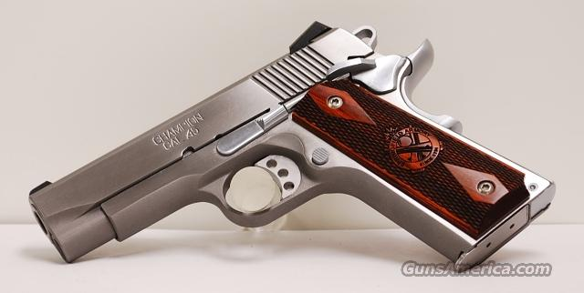 Springfield Loaded Champion Stainless 45 ACP  Guns > Pistols > Springfield Armory Pistols > 1911 Type