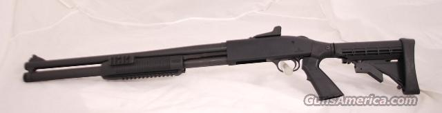 Mossberg 500 Tactical, 12 gauge Tri Rail New  Guns > Shotguns > Mossberg Shotguns > Pump > Tactical