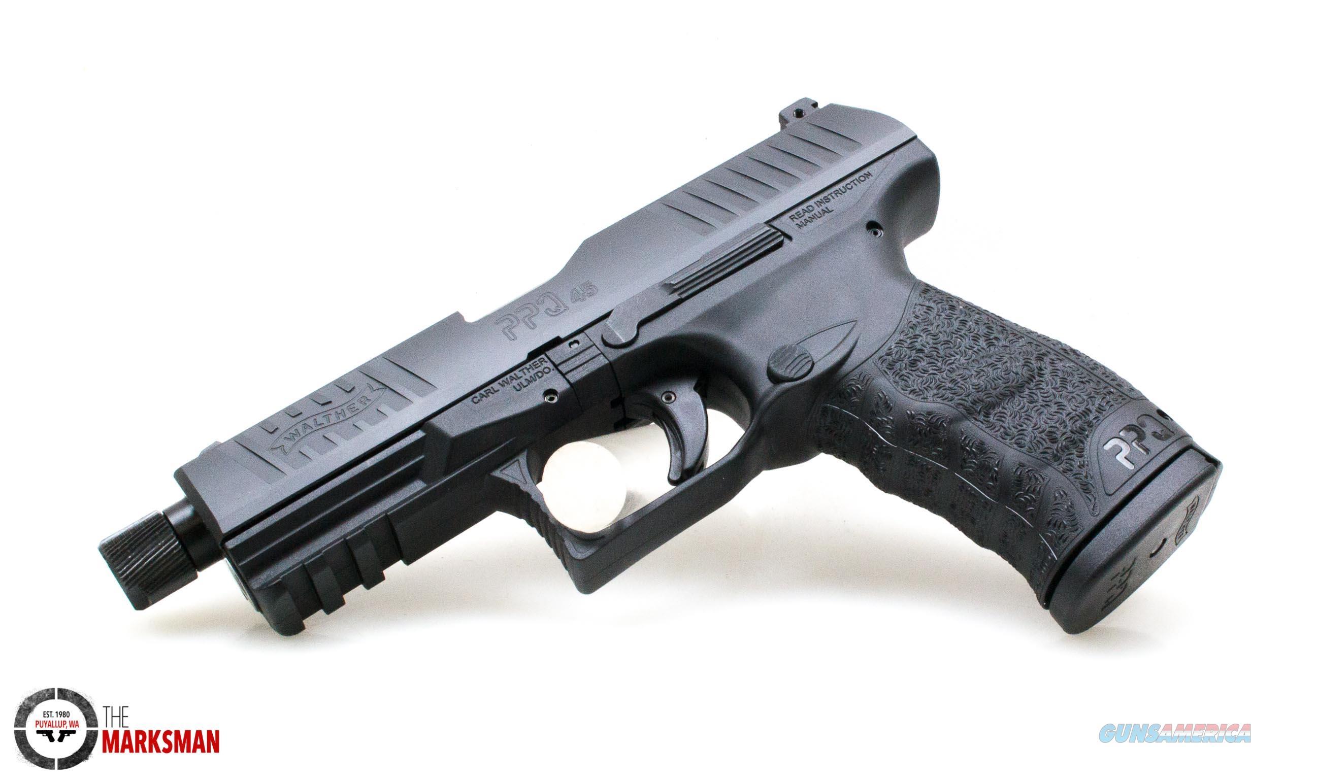 Walther PPQ M2 SD, .45 ACP NEW Threaded Barrel  Guns > Pistols > Walther Pistols > Post WWII > P99/PPQ