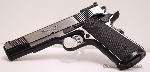 Springfield Loaded Black Stainless Target 45 1911  Guns > Pistols > Springfield Armory Pistols > 1911 Type