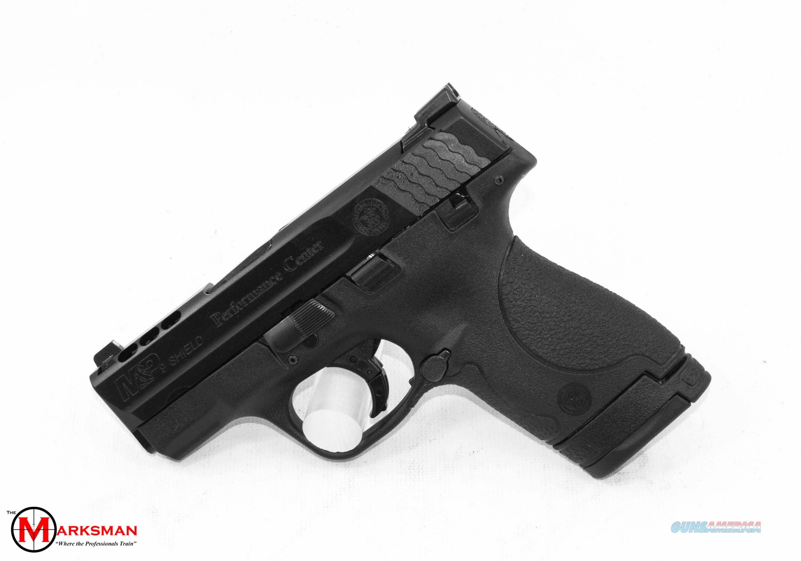 Smith and Wesson Performance Center M&P9 Shield, 9mm, Ported, Tritium Night Sights NEW  Guns > Pistols > Smith & Wesson Pistols - Autos > Shield