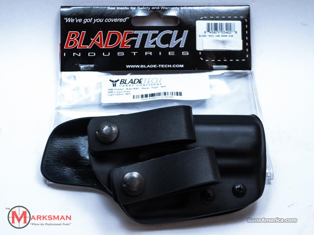 Blade-Tech Inside the Waist Loop Holster Kahr K40 NEW  Non-Guns > Holsters and Gunleather > Concealed Carry