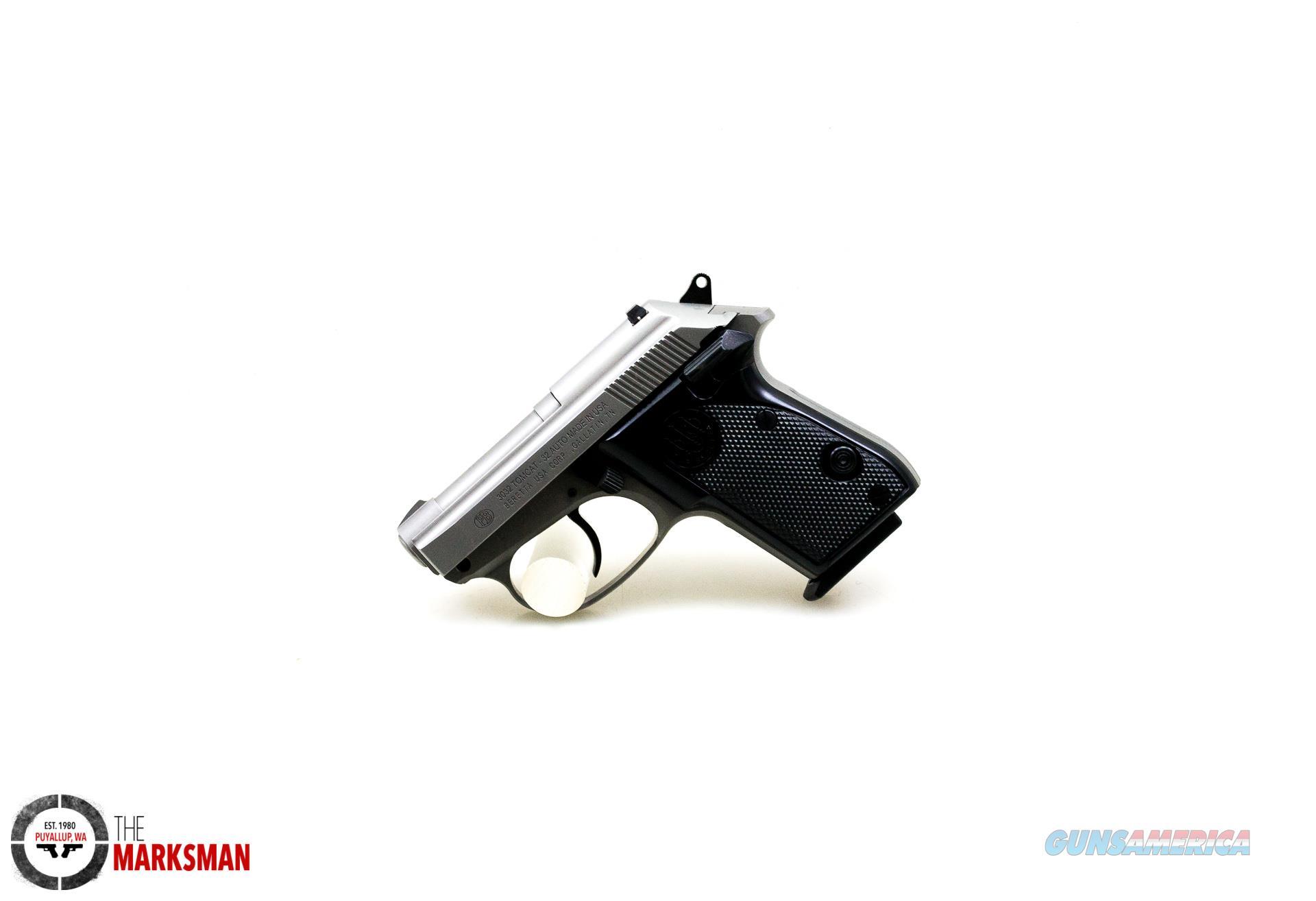 Beretta 3032 Tomcat Inox, .32 ACP NEW J320500  Guns > Pistols > Beretta Pistols > Small Caliber Tip Out