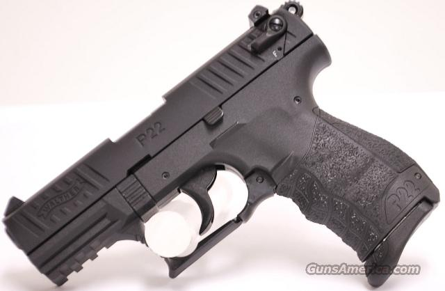 Walther P22, .22 LR NEW  Guns > Pistols > Walther Pistols > Post WWII > P22