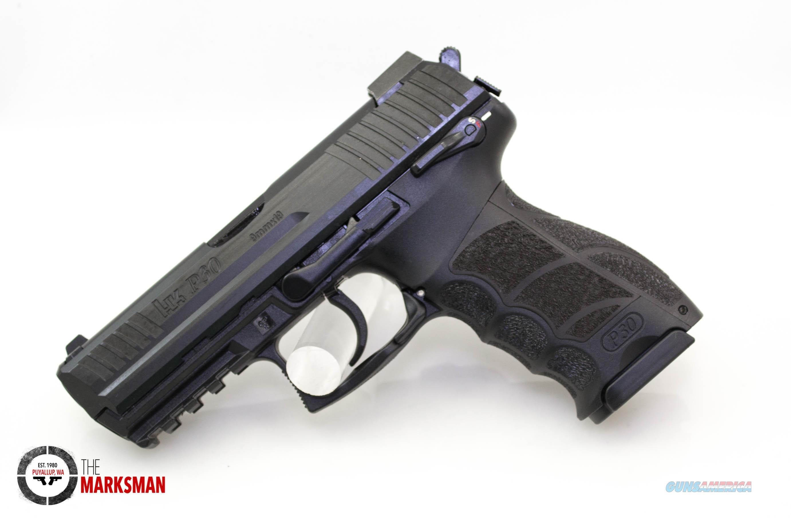 Heckler and Koch P30S, Variant 3, 9mm NEW Three Mags Night Sights  Guns > Pistols > Heckler & Koch Pistols > Polymer Frame