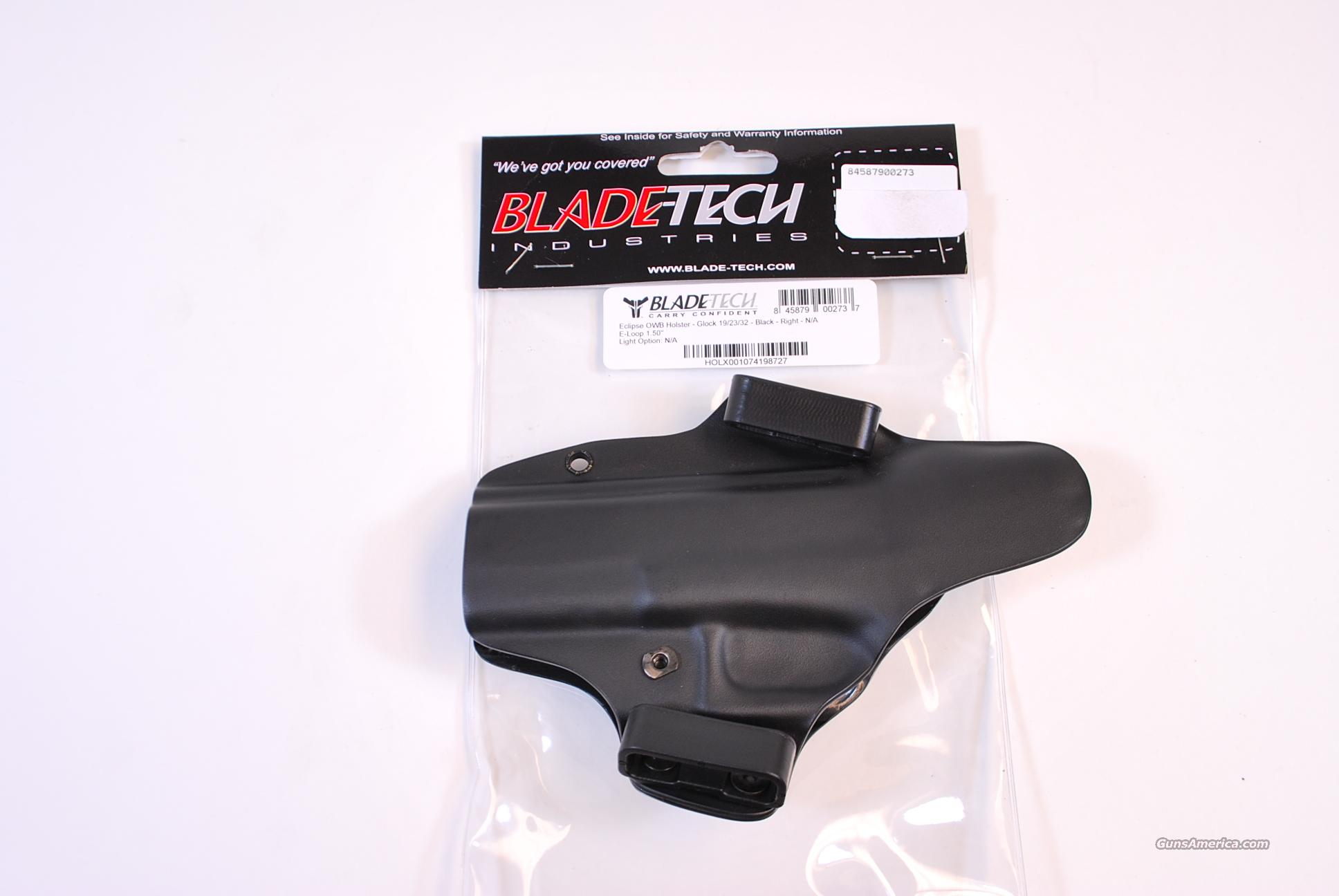 Blade Tech Eclipse Holster Glock 19 23 32 NEW  Non-Guns > Holsters and Gunleather > Concealed Carry