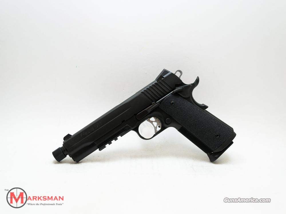 Sig Sauer 1911 Tactical Operations, .45 ACP Threaded Barrel, Free Shipping  Guns > Pistols > Sig - Sauer/Sigarms Pistols > 1911