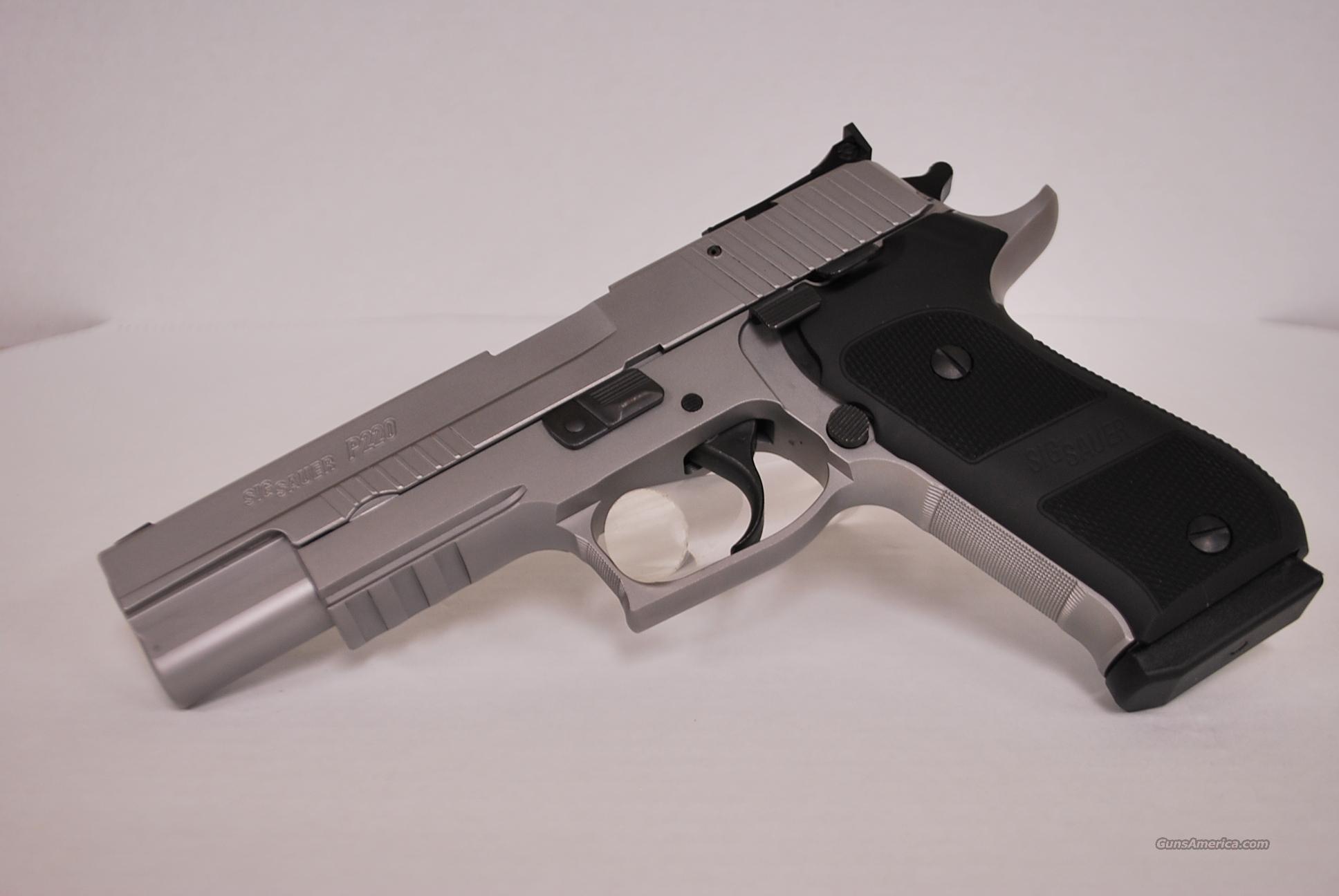 Sig Sauer P220 Match Elite .45 ACP  Guns > Pistols > Sig - Sauer/Sigarms Pistols > P220