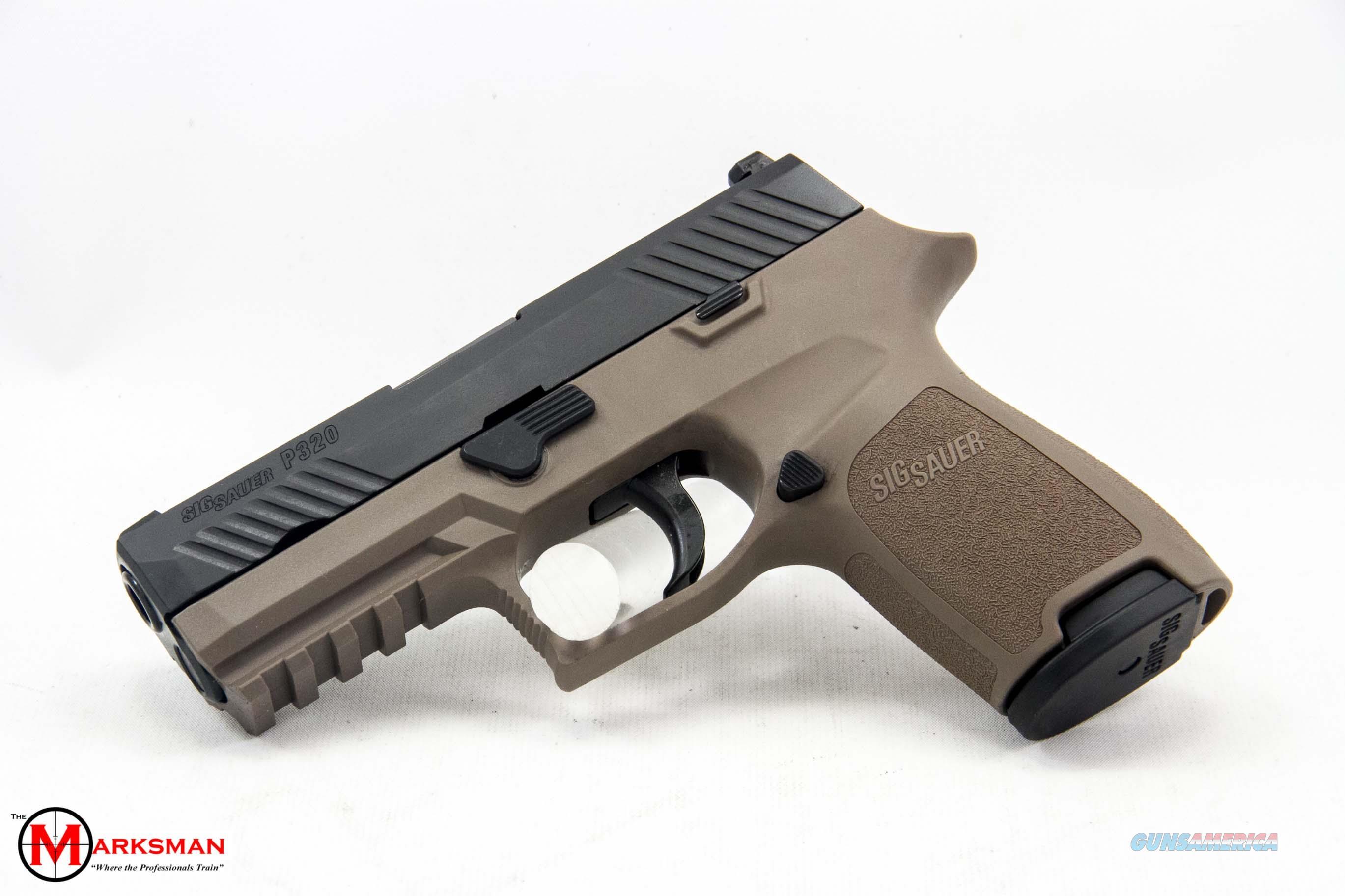 Sig Sauer P320 Compact, 9mm, Flat Dark Earth NEW  Guns > Pistols > Sig - Sauer/Sigarms Pistols > P320