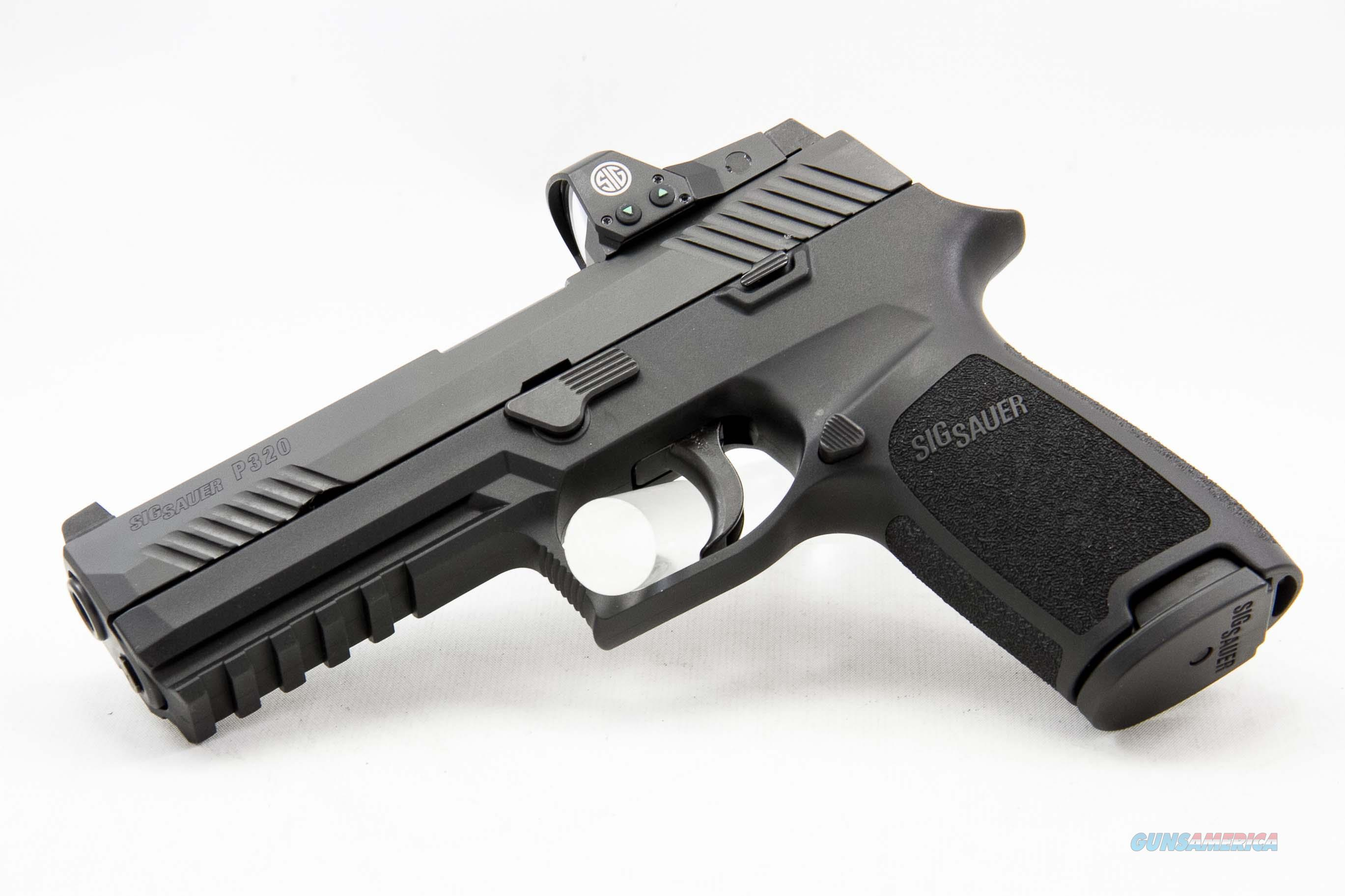 Sig Sauer P320 RX Full Size 9mm NEW ROMEO1 Red Dot Sight Free Shipping  Guns > Pistols > Sig - Sauer/Sigarms Pistols > P320
