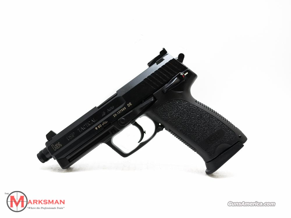 Heckler and Koch USP 45 Tactical .45 ACP  Guns > Pistols > Heckler & Koch Pistols > Polymer Frame