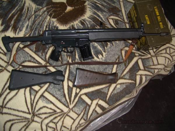Heckler & Koch HK H&K 93A  Guns > Rifles > Heckler & Koch Rifles > Tactical