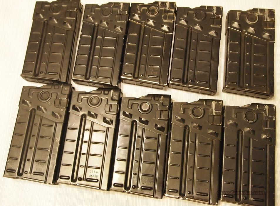10 HK G3 20 round Aluminum Mags  Non-Guns > Magazines & Clips > Rifle Magazines > HK/CETME