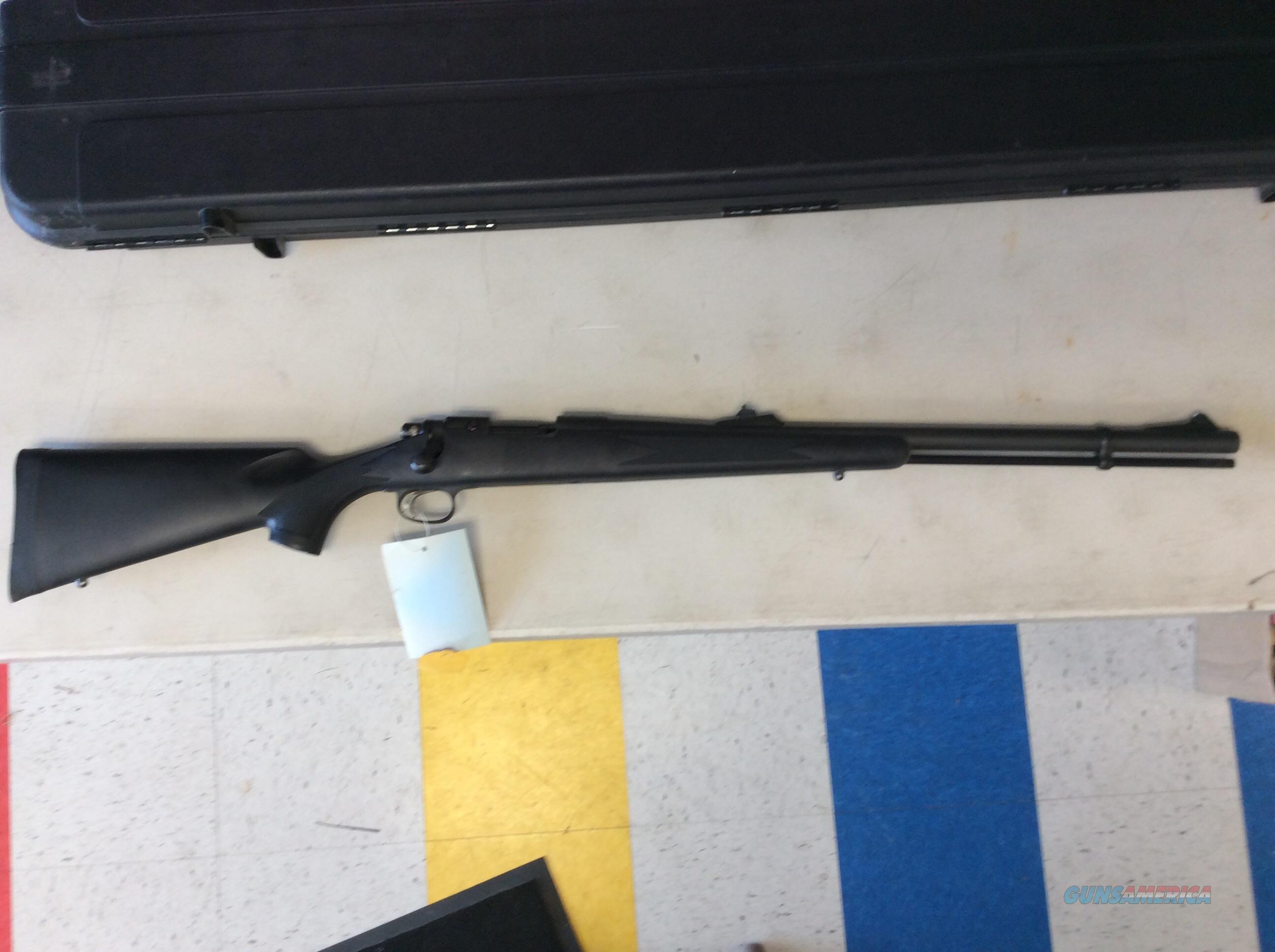 Remington model 700 .50 black powder rifle  Guns > Rifles > Remington Rifles - Modern > Model 700 > Sporting
