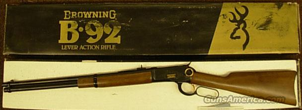 B-92  centennial  Guns > Rifles > Browning Rifles > Lever Action