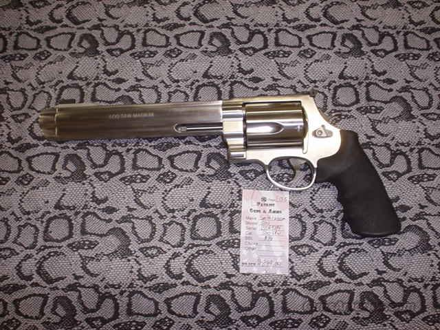 Like New Smith&Wesson 500 S&W Magnum  Guns > Pistols > Smith & Wesson Revolvers > Full Frame Revolver