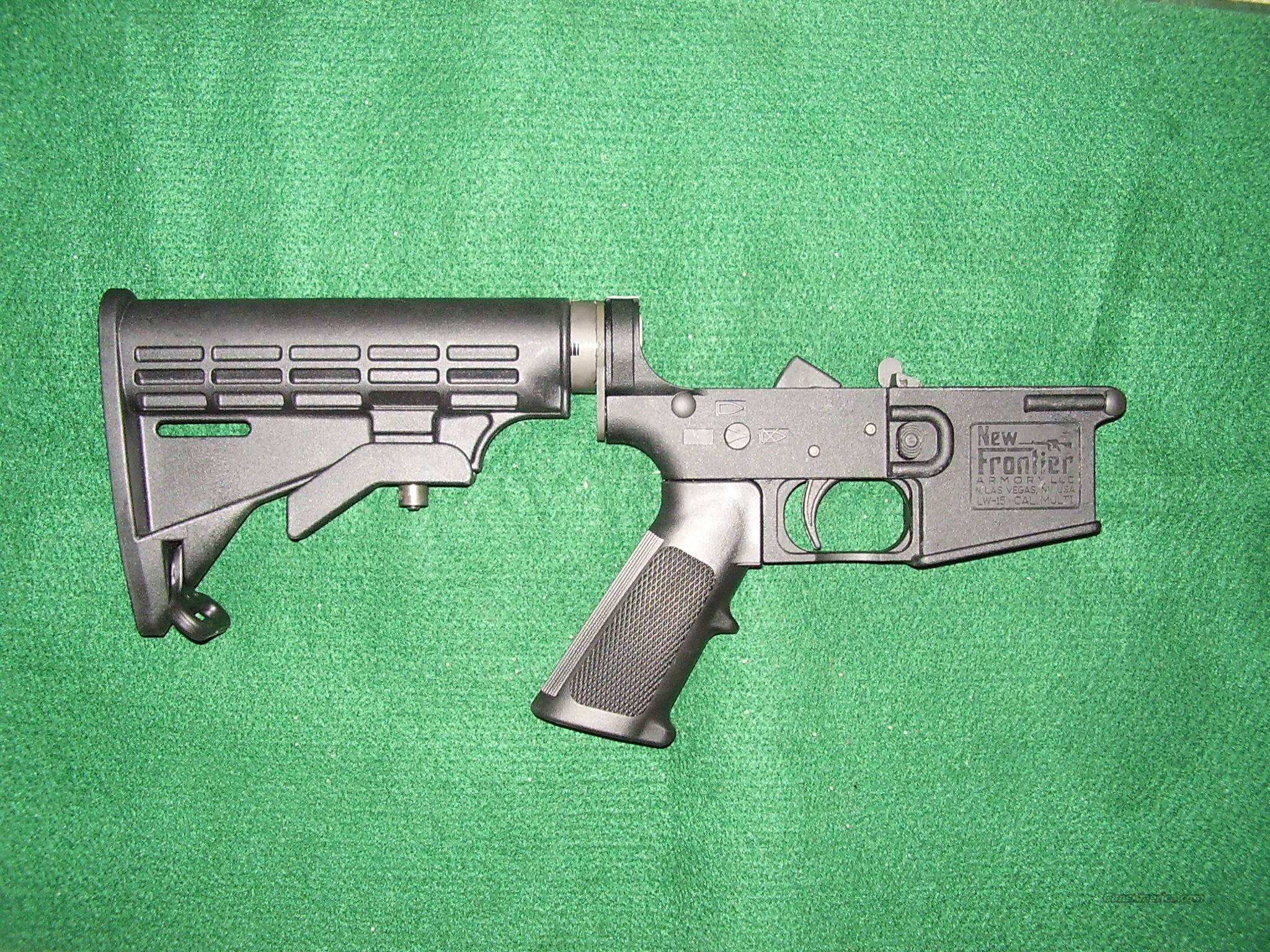 LW15 Complete Lower  Guns > Rifles > AR-15 Rifles - Small Manufacturers > Lower Only