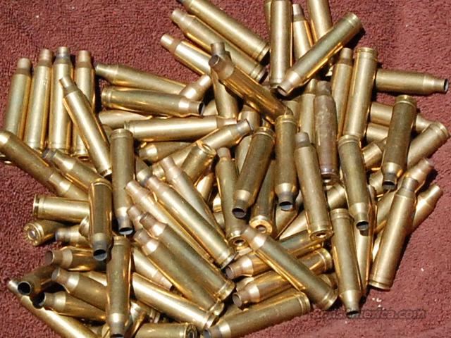 100 shell casings 7mm remington mag 48 primered  Non-Guns > Reloading > Components > Brass